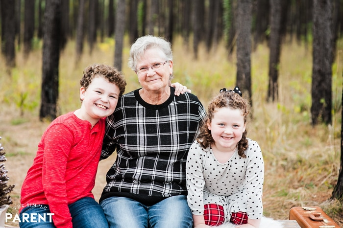The Simple Parent - Grandmother with grandchildren