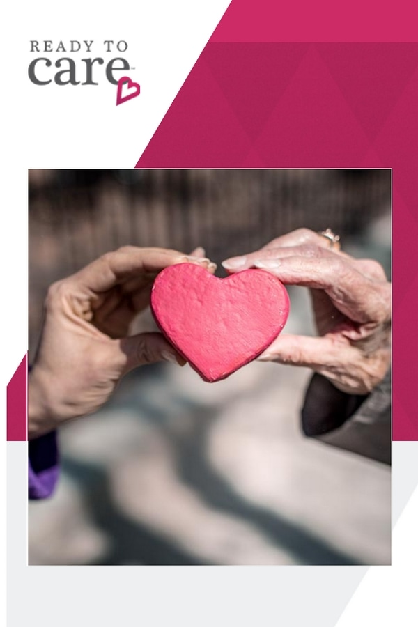 Ready to Care website logo - caring for the aging population