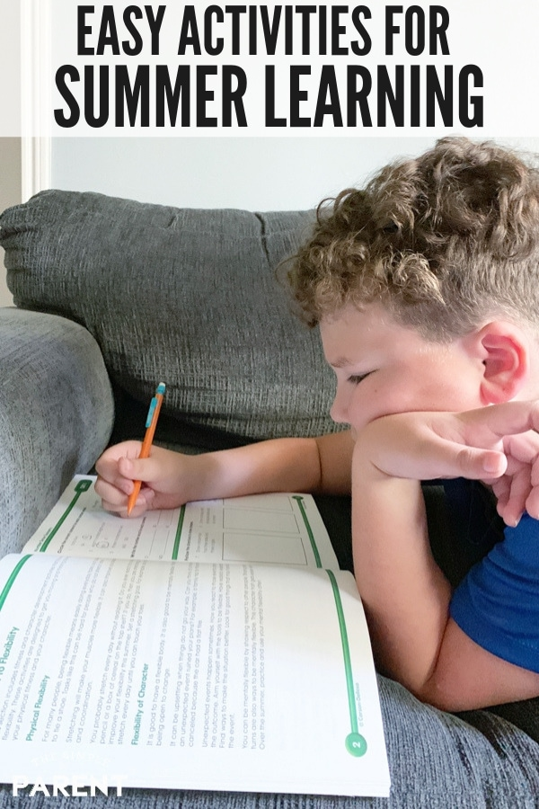Make summer learning for kids easy with help from Carson Dellosa Bridge Activities! They're perfect for fitting into a busy summer schedule to keep children on track for the next grade!