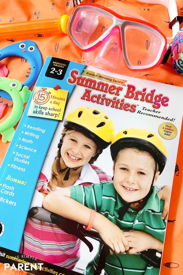 Summer Learning Bridge Activities Book from Carson Dellosa