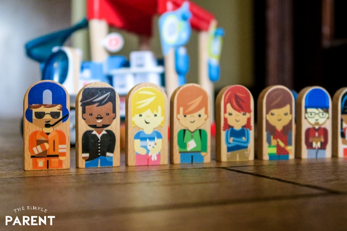 Fisher-Price Wonder Makers™ characters facing forward