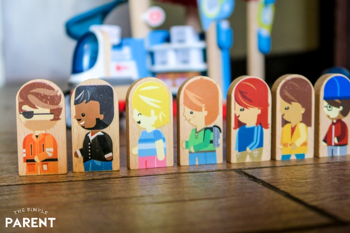 Fisher-Price Wonder Makers™ characters facing sideways