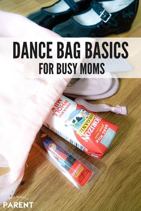 Dance Bag Basics for Busy Moms with Kids Who Dance