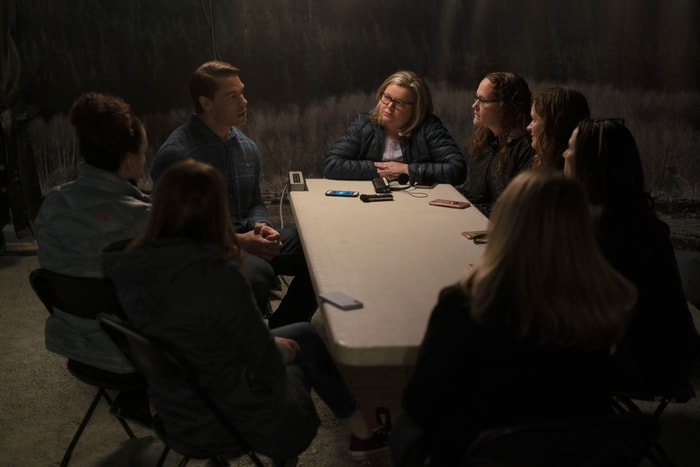 Bloggers interviewing John Cena on the set of Playing with Fire movie