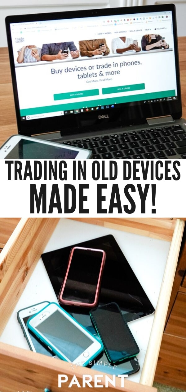 Old devices and Trademore.com website