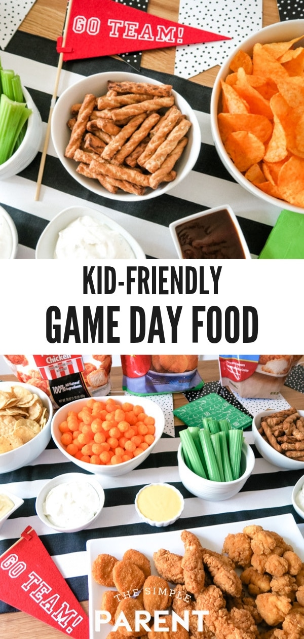 Kid Friendly Game Day Food Ideas