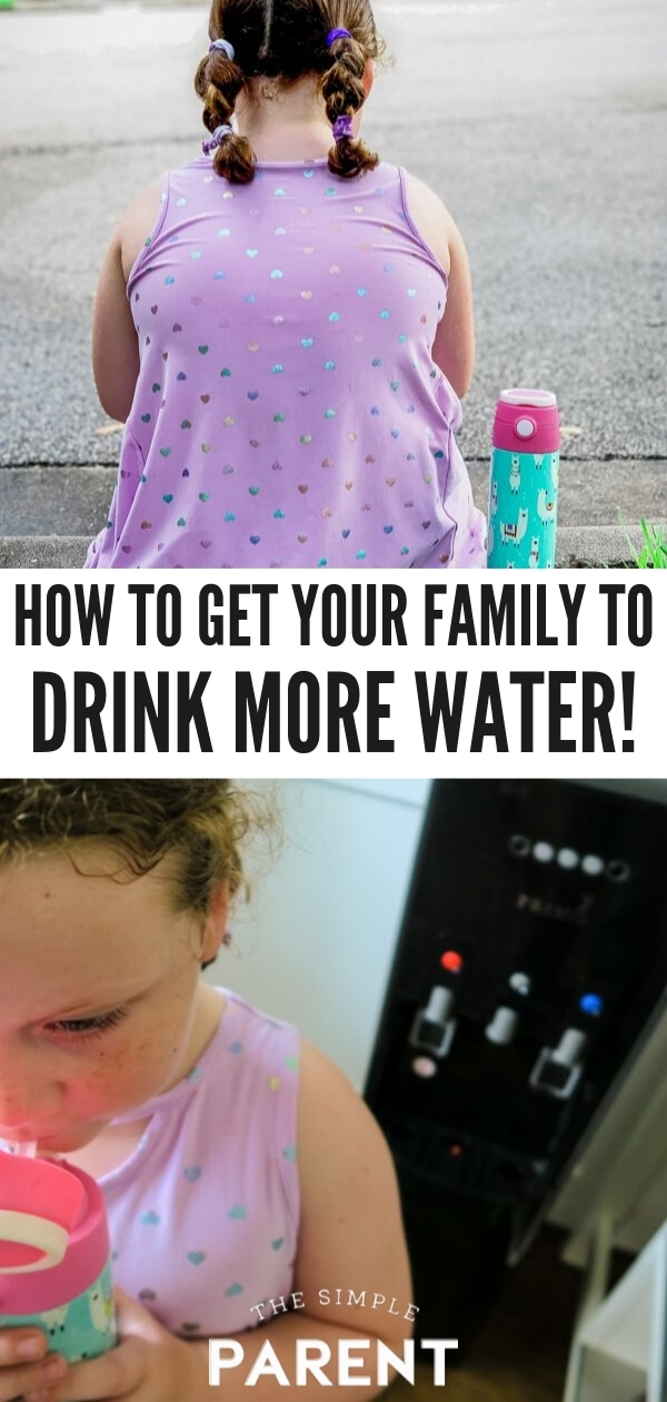 Learn how to easy it is to get your family to drink more water!