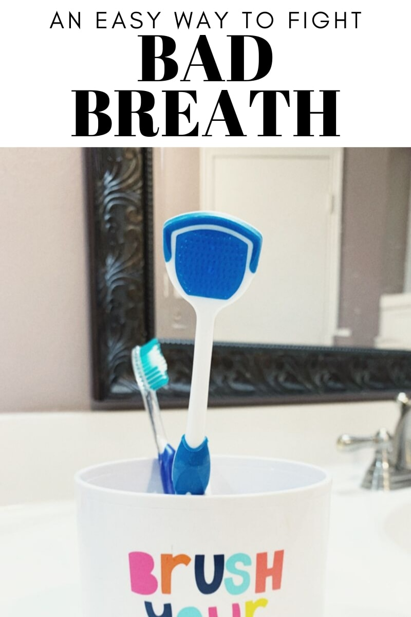 Tips for how to fight bad breath with the Orabrush Tongue Cleaner