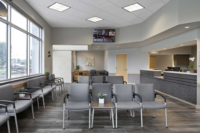 CareNow Urgent Care Waiting Room