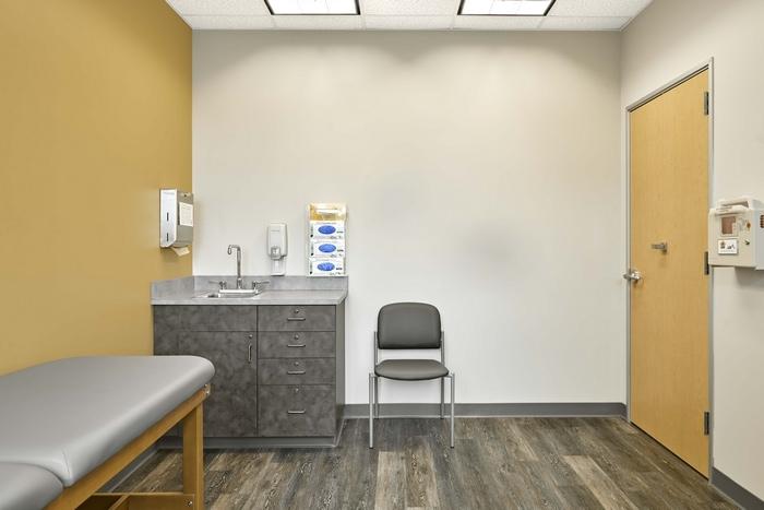 CareNow Urgent Care Exam Room