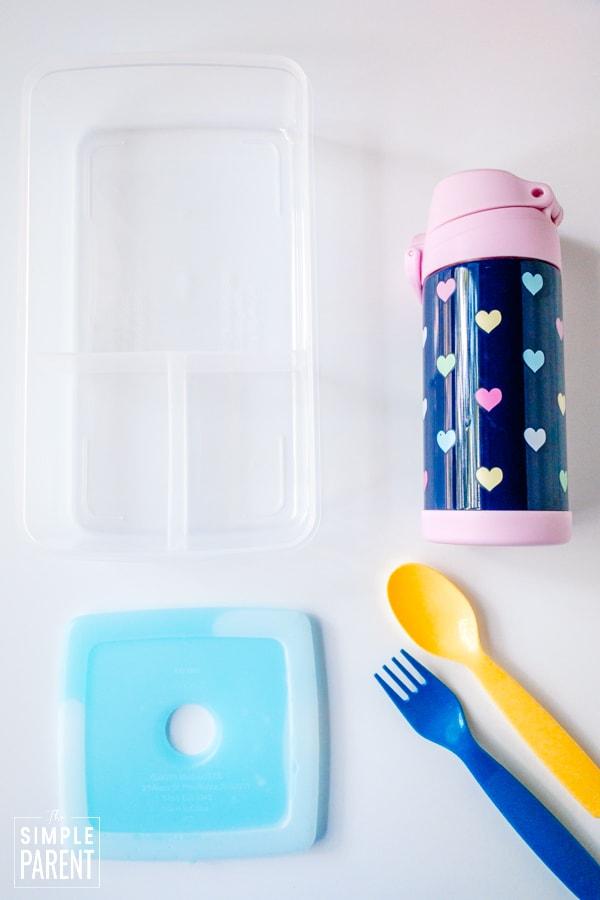 School lunch box supplies