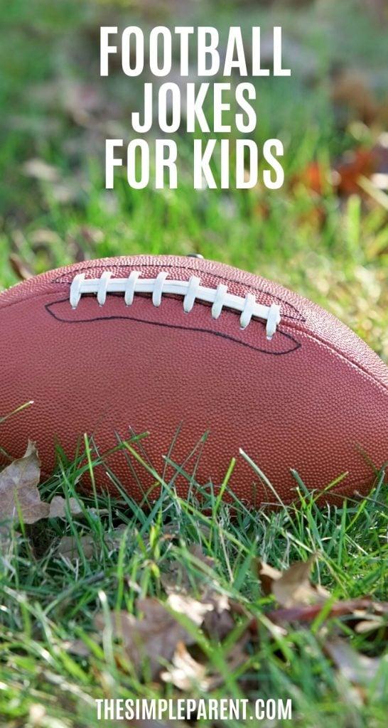 Football sitting in grass