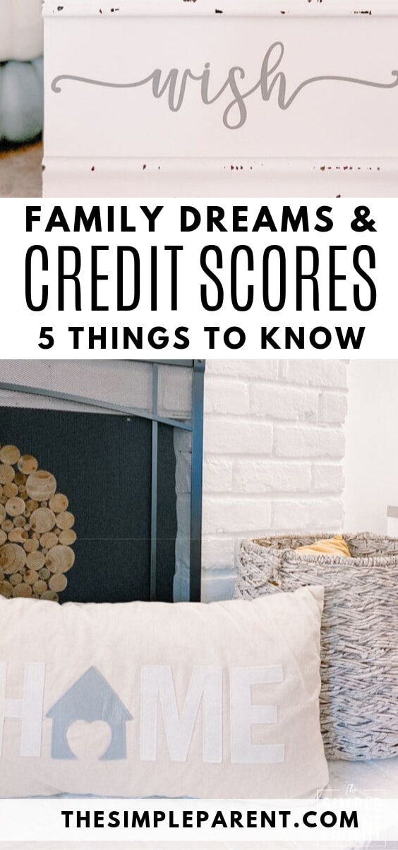 Tips for families about credit scores and credit repair
