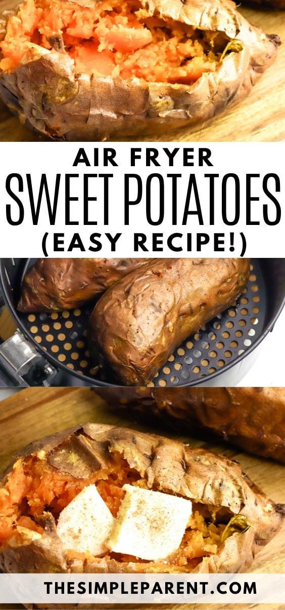 Air Fryer Sweet Potatoes Recipe