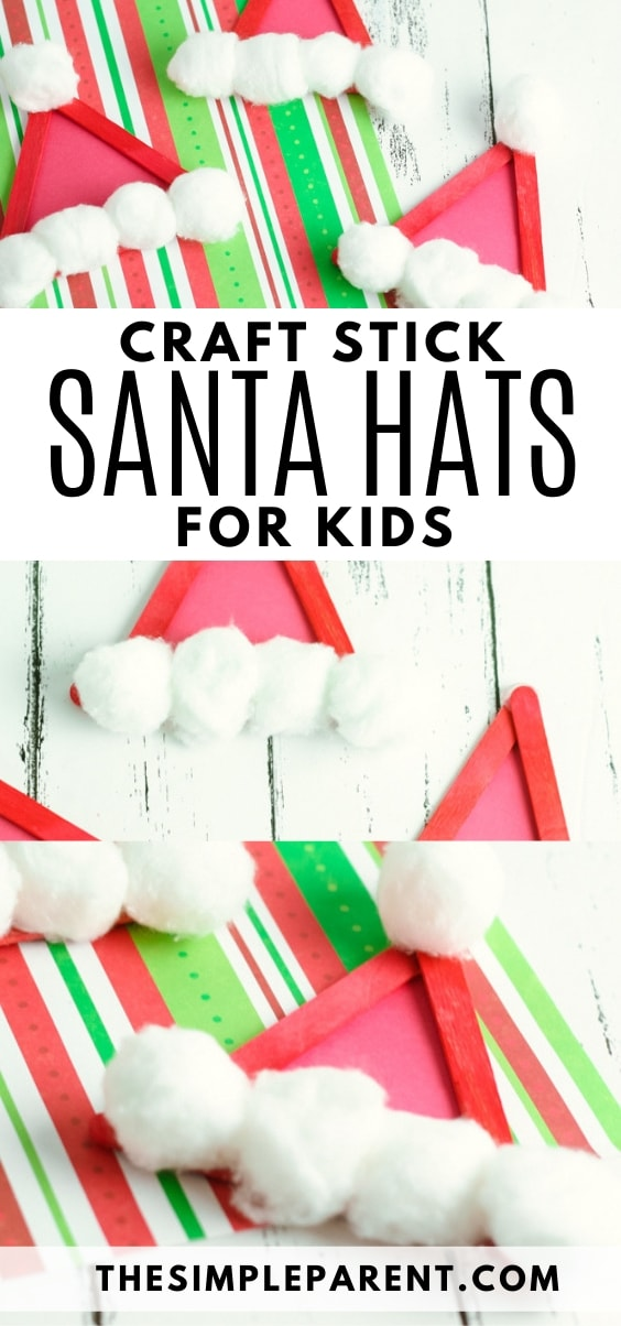 How to Make a Santa Hat craft