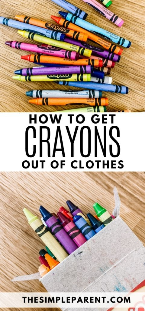 How to Get Crayons out of Clothes