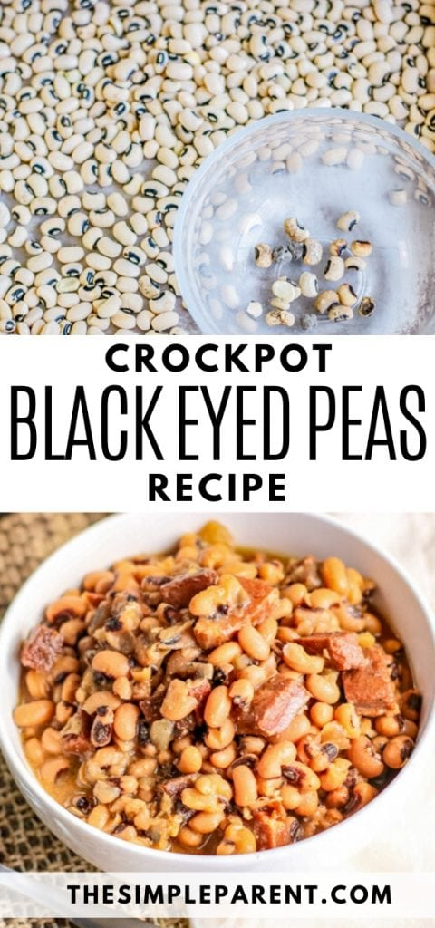 Crockpot Black Eyed Peas recipe