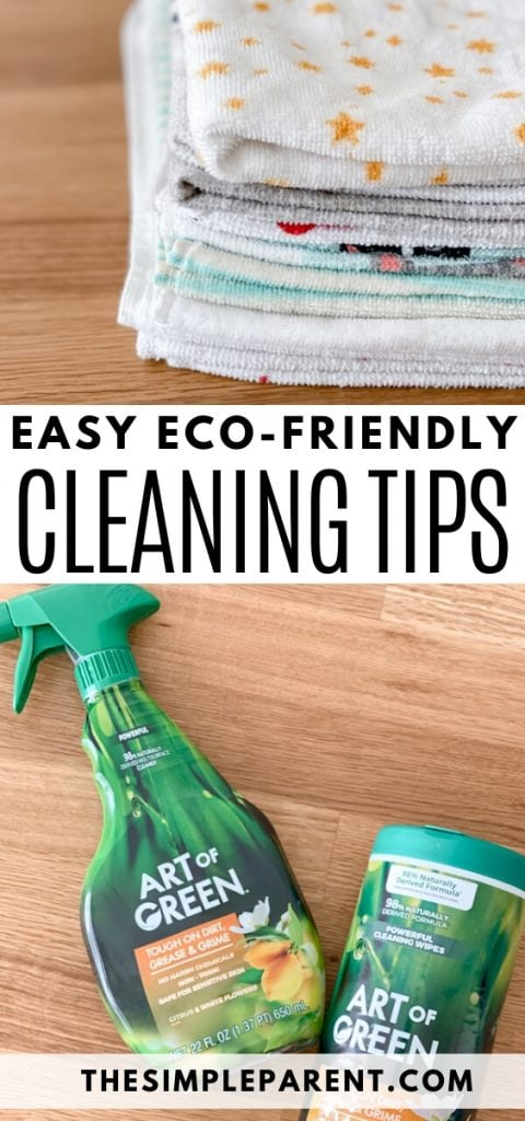 Green Eco-Friendly Ways to Clean Around the House