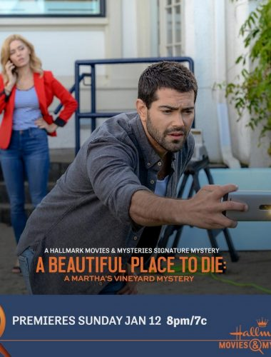 "Scene from Hallmark' Signature Mystery Series premiere, ""A Beautiful Place To Die: A Martha's Vineyard Mystery"
