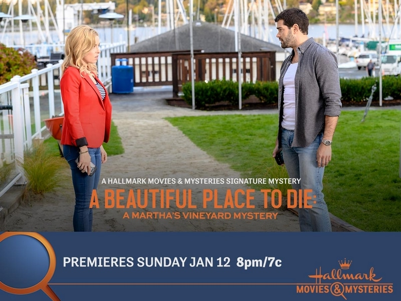 Scene from Hallmark Movies & Mysteries A Beautiful Place to Die: A Martha's Vineyard Mystery