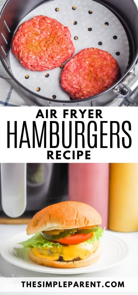 Air Fryer Hamburgers Recipe
