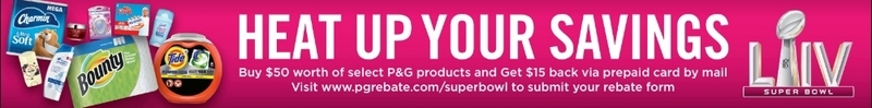 P&G Rebate Information