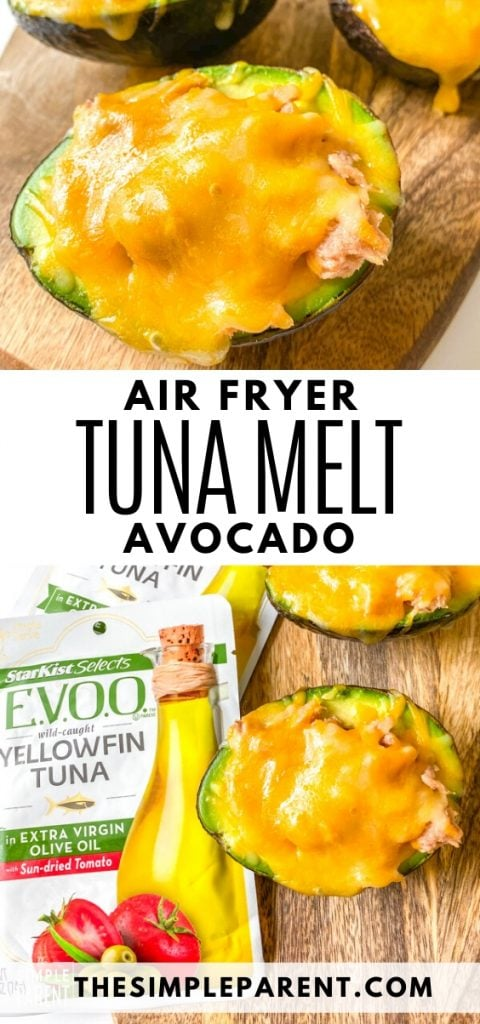 Air Fryer Avocado Tuna Melt Recipe