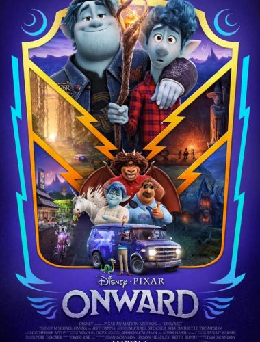 Disney and Pixar's Onward movie poster