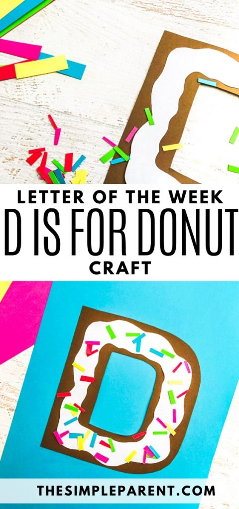 Letter of the Week Craft: D is for Donut
