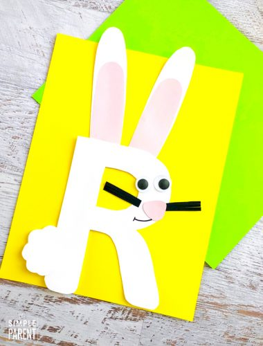 Alphabet Letter R Craft: R is for Rabbit