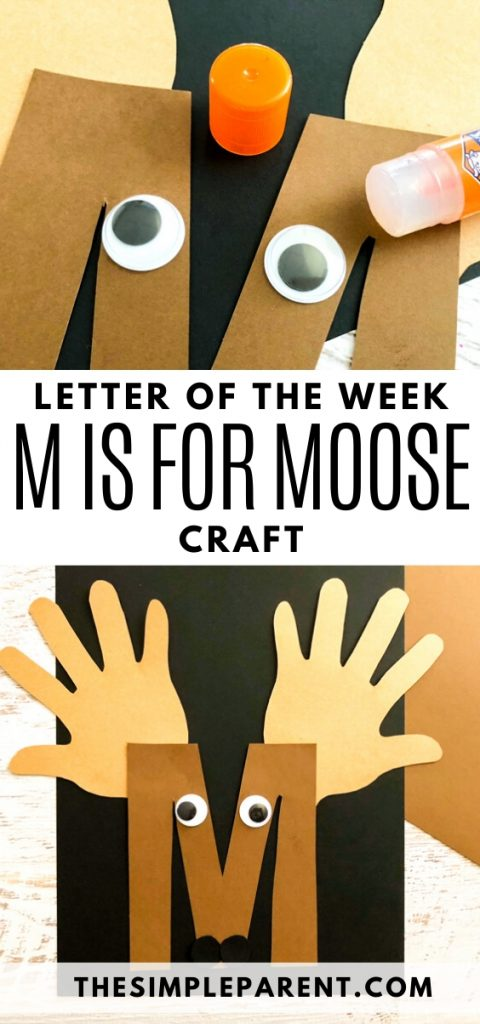 How to Make M Letter of the Week Craft for Preschool and Kindergarten