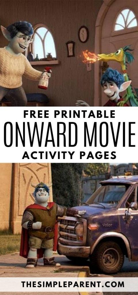 Onward Movie Printables