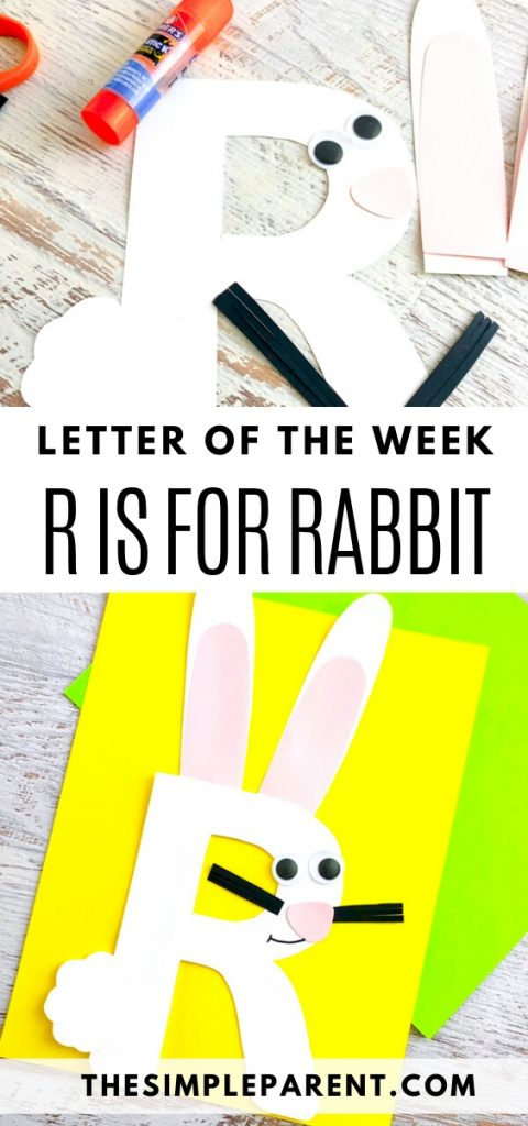 R Letter of the Week Craft
