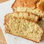 Loaf of 3 Ingredient Cake Mix Banana Bread