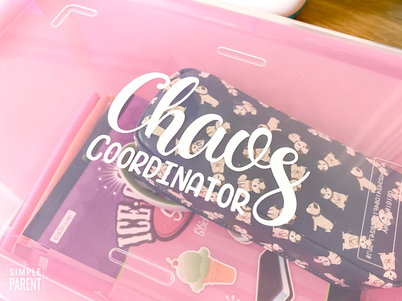 Chaos Coordinator Teacher Appreciation Gift Box