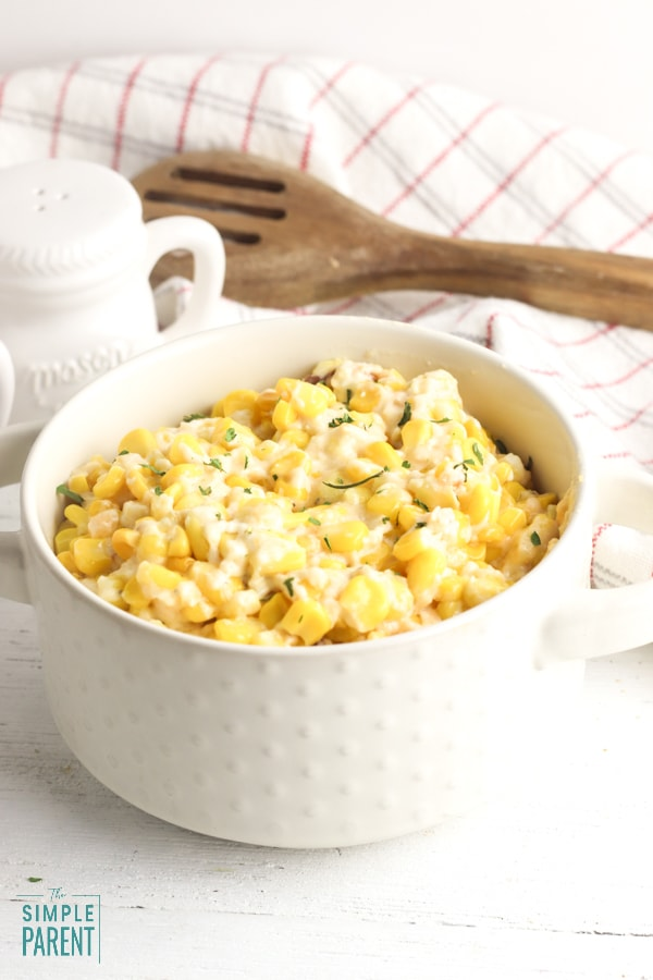 Crockpot Cream Cheese Corn