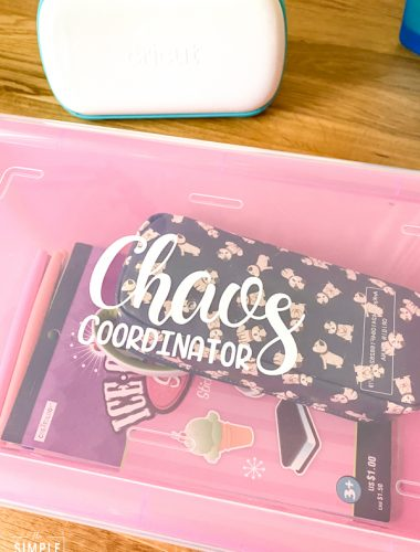 Chaos Coordinator Teacher Survival Kit Box