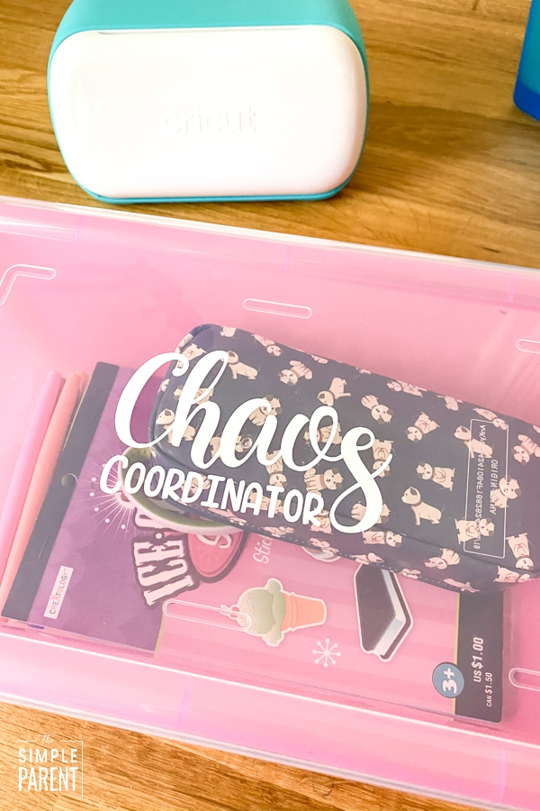 Chaos Coordinator Teacher Survival Kit Box