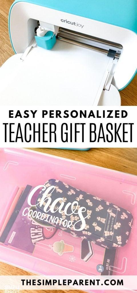 How to Make Custom Teacher Survival Kit Gift