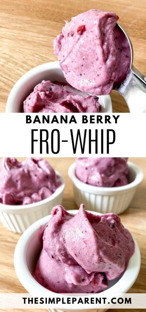 Banana Berry Pineapple Whip Recipe