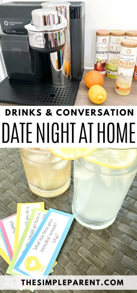 Easy Date Night at Home Ideas with Printable Pillow Talk Questions