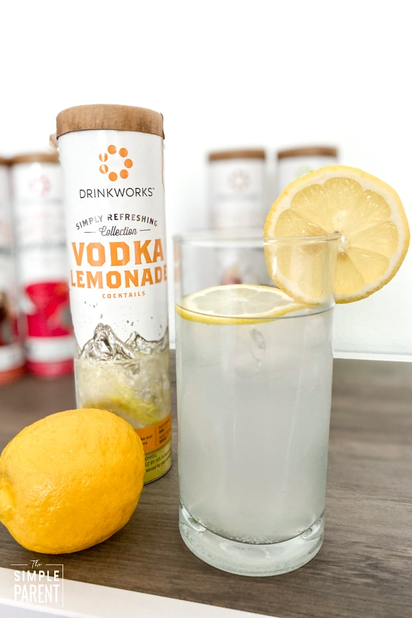 Vodka Lemonade made with Drinkworks Home Bar by Keurig
