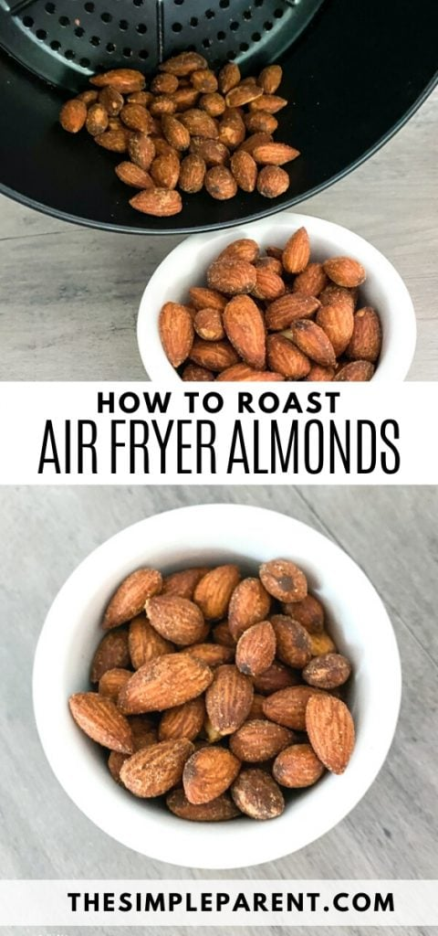 Steps to learn how to make air fryer almonds