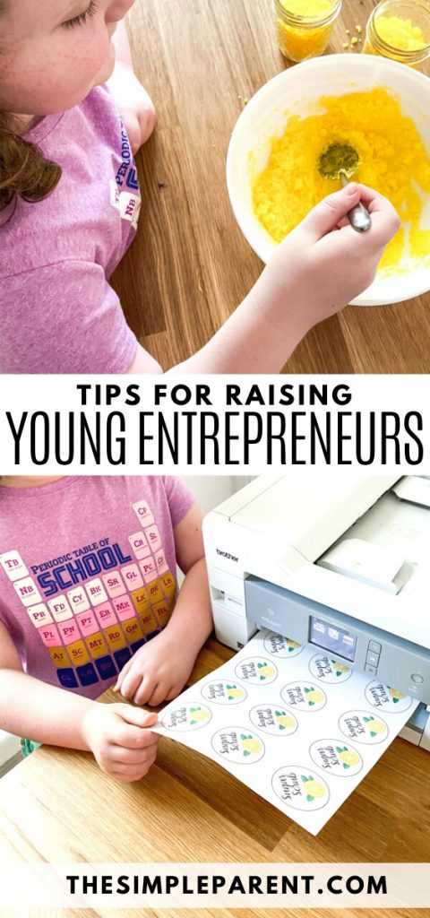 Tips for how to raise young entrepreneurs