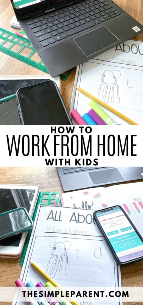 Working from Home with Kids Tips
