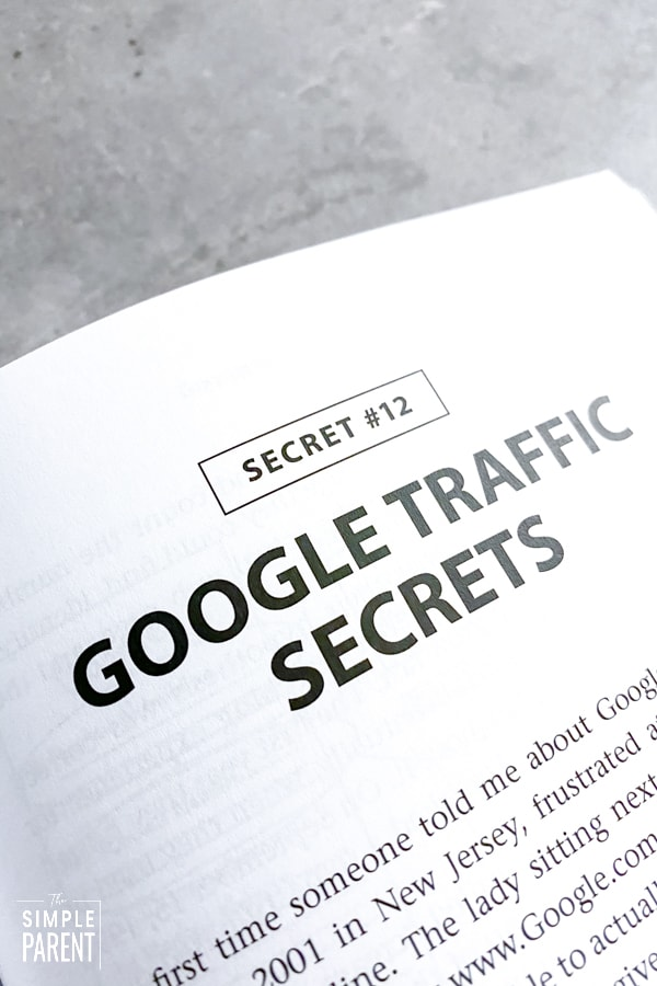 Excerpt from Traffic Secrets: The Underground Playbook for Filling Your Websites and Funnels with Your Dream Customers about Google Traffic as part of Traffic Secrets review