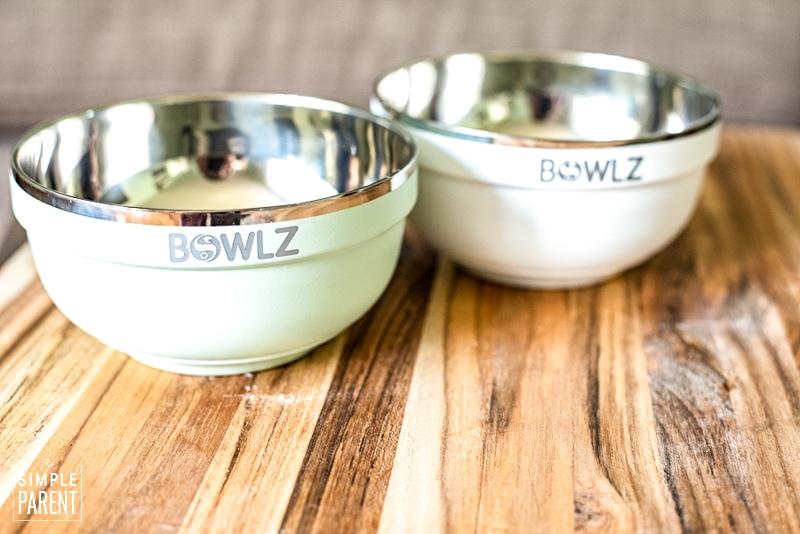 BOWLZ ice cream bowls