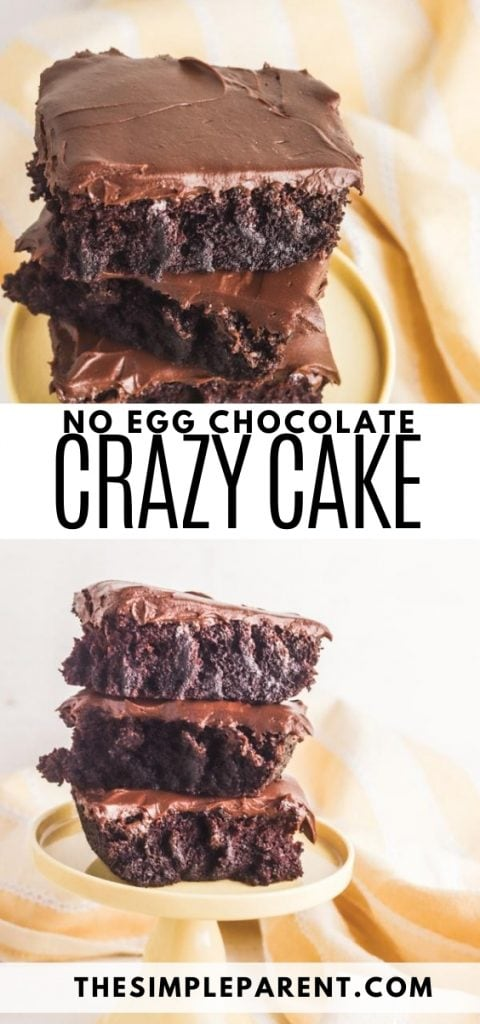 Chocolate Crazy Cake Recipe