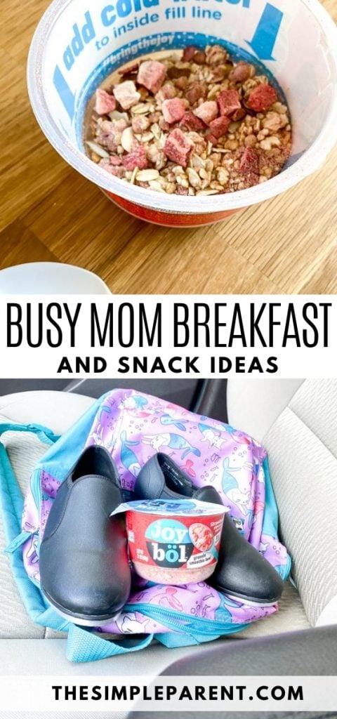 Kellogg's Joybol Busy Mom Breakfast and Snack