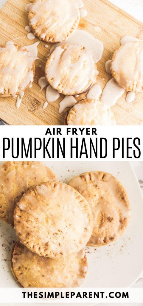 Air Fryer Pumpkin Hand Pies Recipe